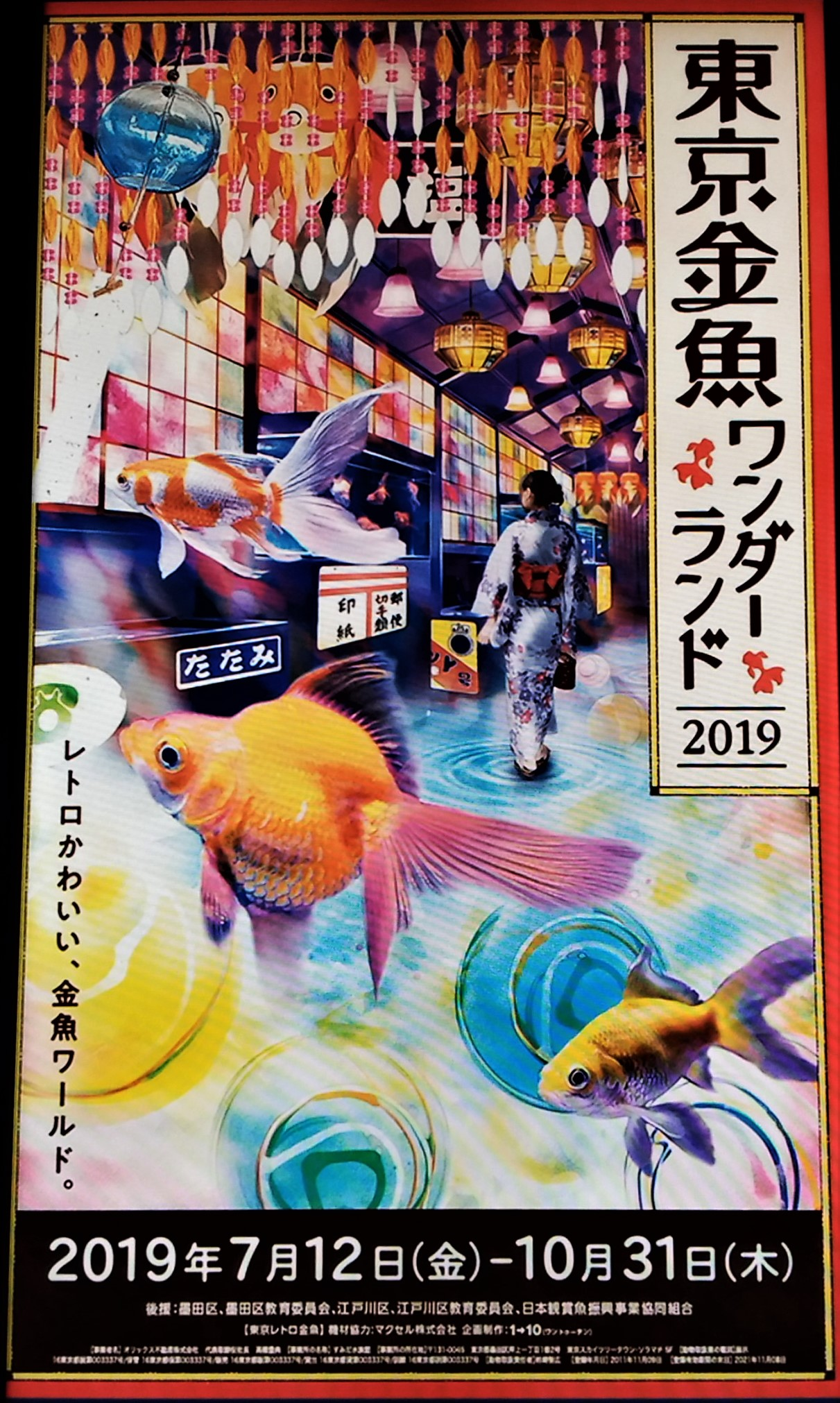 東京 金魚 ワンダーランド 2019